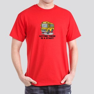 Gifts for School Bus Drivers Dark T-Shirt