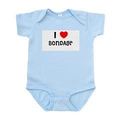 I LOVE BONDAGE Infant Creeper
