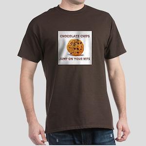 CHOCOLATE CHIPS Dark T-Shirt