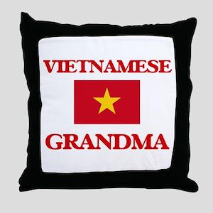 Vietnamese Grandma Throw Pillow
