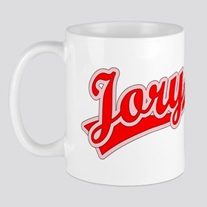 Retro Jory (Red) Mug