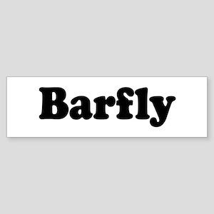 Barfly Bumper Sticker