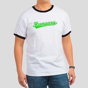 Retro Hungary (Green) Ringer T