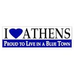 I Love Athens (bumper sticker)