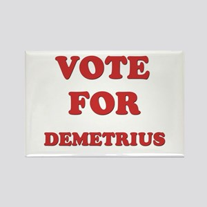 Vote for DEMETRIUS Rectangle Magnet