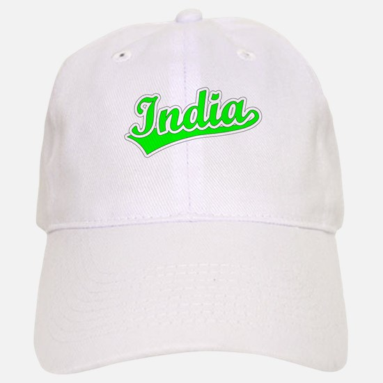 Retro India (Green) Cap