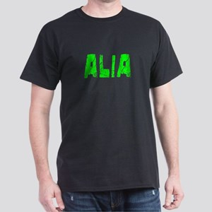 Alia Faded (Green) Dark T-Shirt