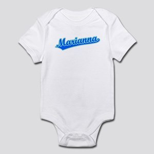 Retro Marianna (Blue) Infant Bodysuit