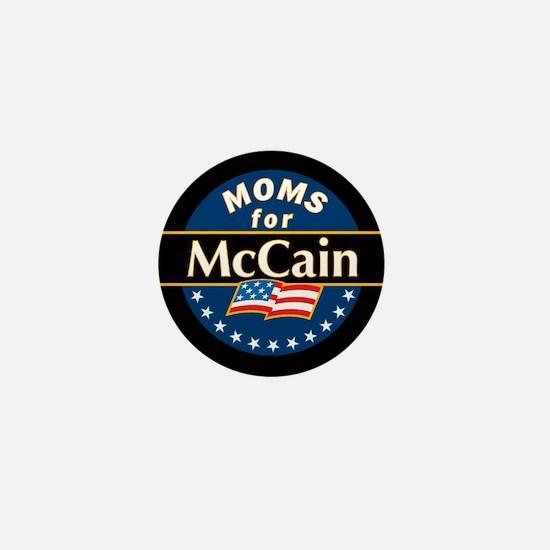 Moms for McCain Mini Button