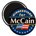 Minnesotans for McCain Magnet