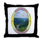 West Virginia Mason Throw Pillow