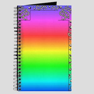 Rainbow Doodles 1 Journal