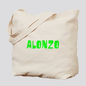 Alonzo Faded (Green) Tote Bag