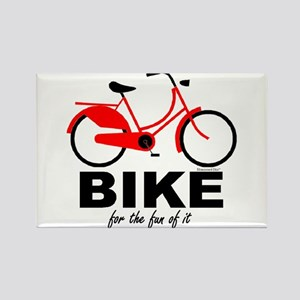 Bike for the Fun of It Rectangle Magnet