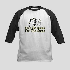 Save The Drama Kids Baseball Jersey
