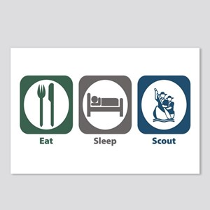 Eat Sleep Scout Postcards (Package of 8)