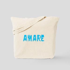 Amare Faded (Blue) Tote Bag
