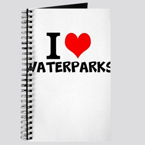 I Love Waterparks Journal