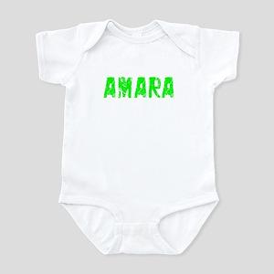 Amara Faded (Green) Infant Bodysuit