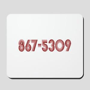 867-5309 Mousepad