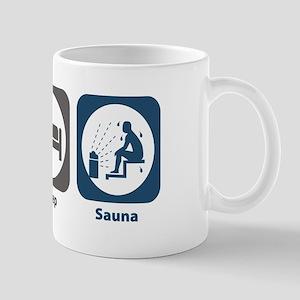 Eat Sleep Sauna Mug