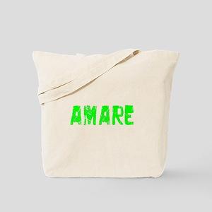 Amare Faded (Green) Tote Bag