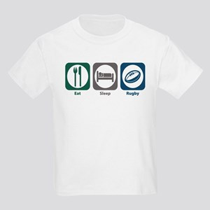 Eat Sleep Rugby Kids Light T-Shirt