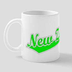 Retro New Zealand (Green) Mug