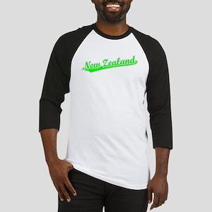 Retro New Zealand (Green) Baseball Jersey