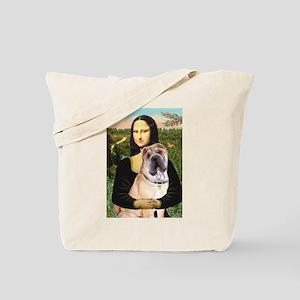 Mona Lisa's Shar Pei (#5) Tote Bag