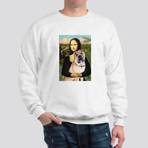 Mona Lisa's Shar Pei (#5) Sweatshirt