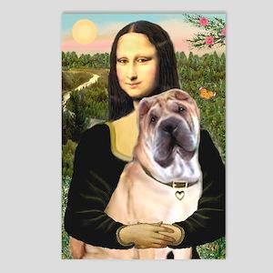Mona Lisa's Shar Pei (#5) Postcards (Package of 8)