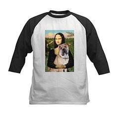 Mona Lisa's Shar Pei (#5) Kids Baseball Jersey