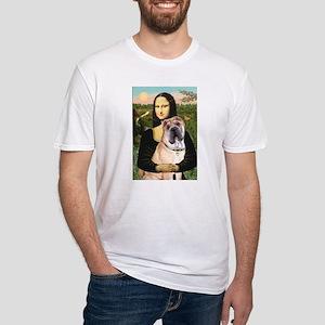 Mona Lisa's Shar Pei (#5) Fitted T-Shirt