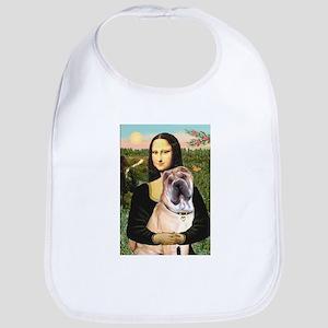 Mona Lisa's Shar Pei (#5) Bib