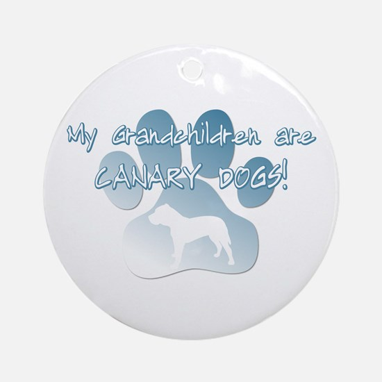 Presa Canario Grandchildren Ornament (Round)