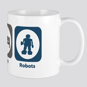 Eat Sleep Robots Mug