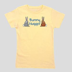 Bunny Hugger (Rabbit) Ash Grey T-Shirt