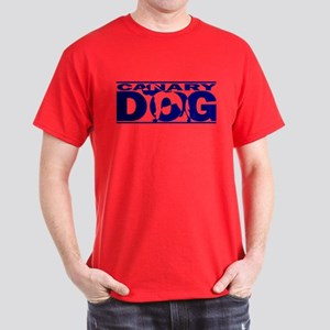Hidden Canary Dog Dark T-Shirt