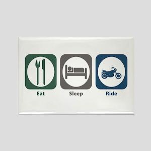 Eat Sleep Ride Rectangle Magnet