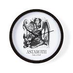 Astaroth Wall Clock