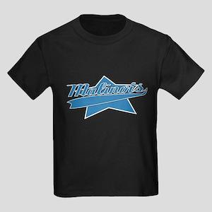 Baseball Malinois Kids Dark T-Shirt