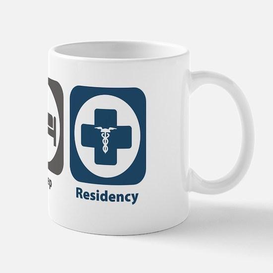 Eat Sleep Residency Mug