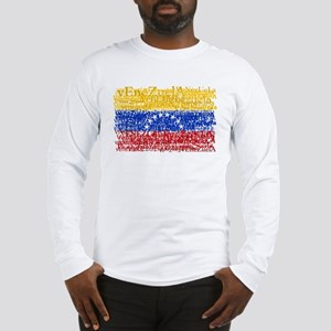 Textual Venezuela Long Sleeve T-Shirt