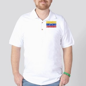 Textual Venezuela Golf Shirt