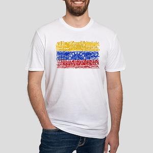 Textual Venezuela Fitted T-Shirt