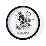 Barbatos Wall Clock