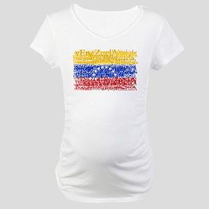 Textual Venezuela Maternity T-Shirt
