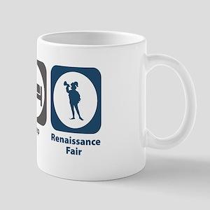 Eat Sleep Renaissance Fair Mug