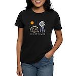 Live Off-Grid Women's Dark T-Shirt